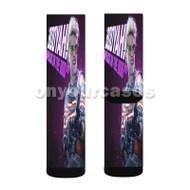 Holtzmann Ghostbusters Custom Sublimation Printed Socks Polyester Acrylic Nylon Spandex with Small Medium Large Size