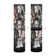 Suicide Squad Characters Custom Sublimation Printed Socks Polyester Acrylic Nylon Spandex with Small Medium Large Size