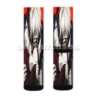 Tokyo Ghoul Kaneki Ken and Uta Custom Sublimation Printed Socks Polyester Acrylic Nylon Spandex with Small Medium Large Size