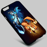 Mega Charizard X Y Pokemon on your case iphone 4 4s 5 5s 5c 6 6plus 7 Samsung Galaxy s3 s4 s5 s6 s7 HTC Case