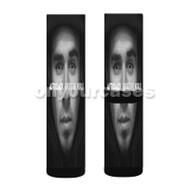 Afrojack Forget The World Custom Sublimation Printed Socks Polyester Acrylic Nylon Spandex with Small Medium Large Size