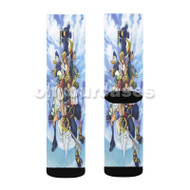 Kingdom Heart Characters Custom Sublimation Printed Socks Polyester Acrylic Nylon Spandex with Small Medium Large Size