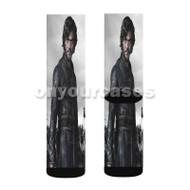 Marco Polo Movie Custom Sublimation Printed Socks Polyester Acrylic Nylon Spandex with Small Medium Large Size