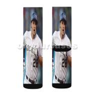 Nolan Arenado Colorado Rockies BAseball Player Custom Sublimation Printed Socks Polyester Acrylic Ny with Small Medium Large Size