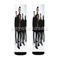 Stereophonics Band Custom Sublimation Printed Socks Polyester Acrylic Nylon Spandex with Small Medium Large Size