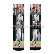 Victor Martinez Detroit Tigers Custom Sublimation Printed Socks Polyester Acrylic Nylon Spandex with Small Medium Large Size