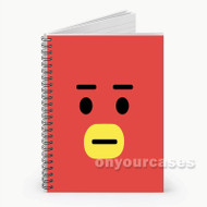 BT21 Tata Custom Personalized Spiral Notebook Cover