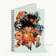 Dragon Ball Custom Personalized Spiral Notebook Cover