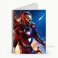 Iron Man Custom Personalized Spiral Notebook Cover