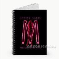 Mariah Carey Caution World Tour Custom Personalized Spiral Notebook Cover