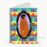 WAVVES King Of The Beach Custom Personalized Spiral Notebook Cover