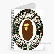 72 Bape Camo Custom Personalized Spiral Notebook Cover