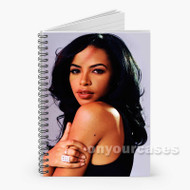 Aaliyah Custom Personalized Spiral Notebook Cover