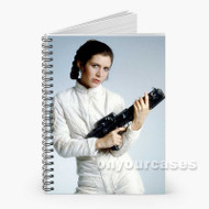 Carrie Fisher Custom Personalized Spiral Notebook Cover