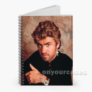 George Michael Custom Personalized Spiral Notebook Cover