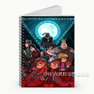 Gravity Falls Custom Personalized Spiral Notebook Cover