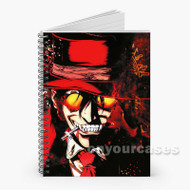 Hellsing Anime Custom Personalized Spiral Notebook Cover