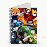 Homestuck Custom Personalized Spiral Notebook Cover
