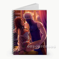 Kakashi and Seiren Custom Personalized Spiral Notebook Cover