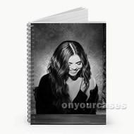 Selena Gomez Custom Personalized Spiral Notebook Cover
