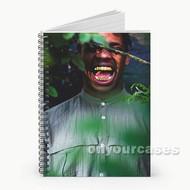 Travis Scott Custom Personalized Spiral Notebook Cover