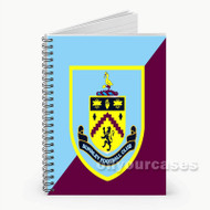 Burnley FC Custom Personalized Spiral Notebook Cover