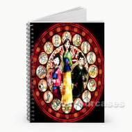 Disney Mulan Snow White Custom Personalized Spiral Notebook Cover