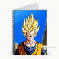 Goku Super Saiyan 2 Custom Personalized Spiral Notebook Cover
