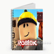 Roblox Custom Personalized Spiral Notebook Cover