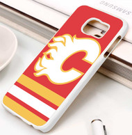 Calgary Flames 2 Samsung Galaxy S3 S4 S5 S6 S7 case / cases