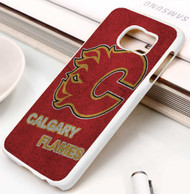 Calgary Flames 3 Samsung Galaxy S3 S4 S5 S6 S7 case / cases