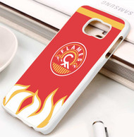 Calgary Flames 4 Samsung Galaxy S3 S4 S5 S6 S7 case / cases