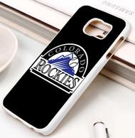Colorado Rockies 2 Samsung Galaxy S3 S4 S5 S6 S7 case / cases