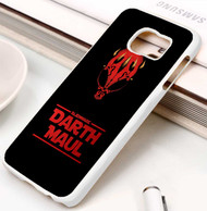 Darth Maul starwars Samsung Galaxy S3 S4 S5 S6 S7 case / cases