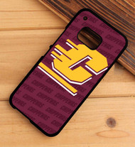 central michigan university HTC One X M7 M8 M9 Case