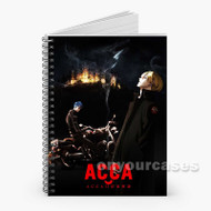 ACCA 13 Territory Inspection Dept Custom Personalized Spiral Notebook Cover