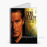Don Henley Custom Personalized Spiral Notebook Cover