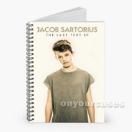 Jacob Sartorius Last Text Custom Personalized Spiral Notebook Cover