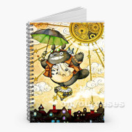 Neighbor Totoro Custom Personalized Spiral Notebook Cover