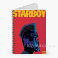 The Weeknd Starboy Custom Personalized Spiral Notebook Cover