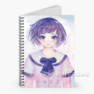 VOEZ Custom Personalized Spiral Notebook Cover