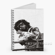6 LACK Custom Personalized Spiral Notebook Cover