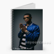 A Boogie Wit Da Hoodie Custom Personalized Spiral Notebook Cover