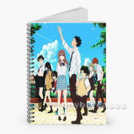 A Silent Voice Custom Personalized Spiral Notebook Cover