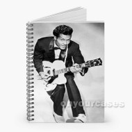 Chuck Berry Custom Personalized Spiral Notebook Cover
