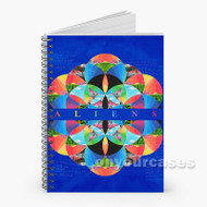 Coldplay Aliens Custom Personalized Spiral Notebook Cover
