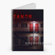 Eamon Before I Die Custom Personalized Spiral Notebook Cover