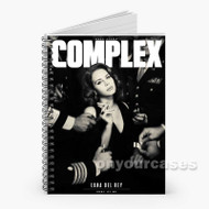 Lana Del Rey Complex Custom Personalized Spiral Notebook Cover