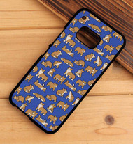 Corgi pattern HTC One X M7 M8 M9 Case