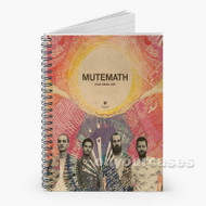 Mutemath Play Dead Live Custom Personalized Spiral Notebook Cover